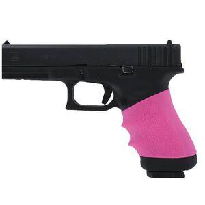 Hogue HandAll Universal Slip On Grip Fullsize Semi Automatic Rubber Pink 17007