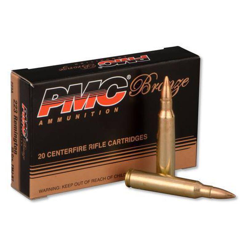 PMC Bronze .223 Rem Ammunition 20 Rounds 55 Grain FMJBT  2900 fps