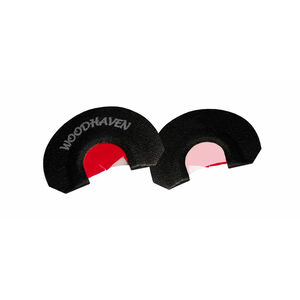 Woodhaven Custom Calls WH303 Red Ninja Reverse Hammer Three Reed Call Turkey Yelps Purrs Clucks Cutts