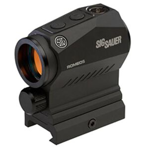 SIG Sauer Romeo5 1x20mm Red Dot Sight 2 MOA Red Dot Reticle Matte Black