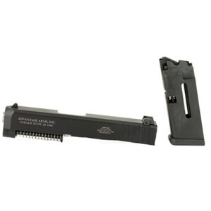 Advantage Arms .22 Long Rifle Conversion Kit for Gen 1-3 GLOCK 26/27 Models 10 Round Magazine Range Bag Matte Black Finish