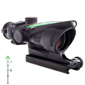 Trijicon ACOG 4x32 Green Dual Illuminated .223 Chevron Reticle with TA51 Mount