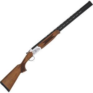 "TriStar Trinity LT .410 Bore Over/Under Shotgun 28"" Barrels 3"" Chamber 5 Choke Tubes Lightweight Wood Stock Silver/Blued Finish"