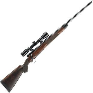 "Winchester Arms Model 70 Super Grade Bolt Action Rifle .243 Win 22"" Barrel Blued 5 Rounds Free Float Grade IV/V Full Fancy Walnut Stock Brushed Polish Finish 535203212"