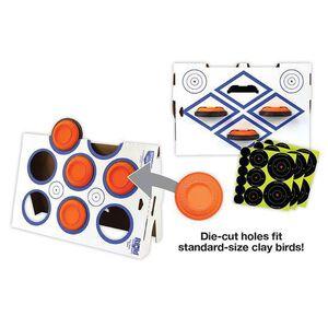 Birchwood Casey Rigid Clay Holder Stand Heavy Corrugated Cardboard 37602