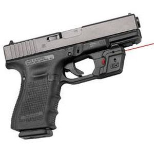 Crimson Trace Defender Series Accu-Guard For GLOCK Fullsize and Compact Red Laser 2x 357 Silver Oxide Battery Polymer Body DS-121