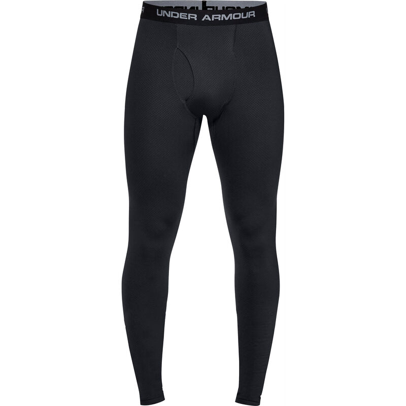Under Armour Tac Reactor Base Leggings Polyester Elastane Men's XL Black
