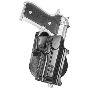 Fobus Holster Beretta 92,96,M9/CZ 75B/Taurus PT92,PT99 Right Hand Paddle Attachment Polymer Black