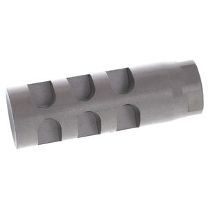 GLFA Devastator AR-15 Muzzle Brake 6.5 Grendel 5/8x24 Stainless Steel Natural Finish