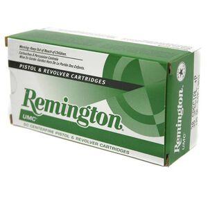 Remington UMC .38 Special +P Ammunition 50 Rounds JHP 125 Grains L38S2