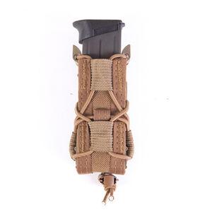 HSGI Belt Mount Pistol TACO Single Mag Pouch Coyote Brown