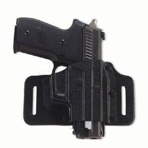 Galco Tac Slide Belt Holster Right Hand Fits GLOCK 43 Leather/Kydex Black
