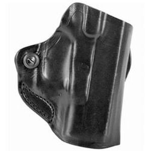 DeSantis Mini Scabbard Walther CCP Belt Slide Holster Right Hand Leather Black