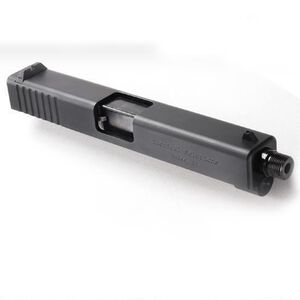 Tactical Solutions TSG-22 GLOCK 19/23 Rimfire Conversion Slide .22 Long Rifle Threaded Matte Black Finish