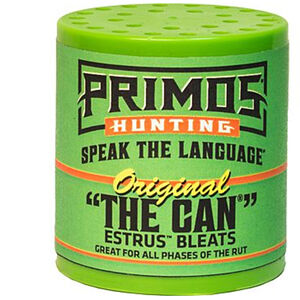 Primos The Original Can Doe Bleat Deer Call Green