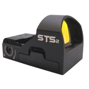 C-More Systems STS2 Small Tactical Sight Red Dot 3 MOA No Mount Black STS2B-3