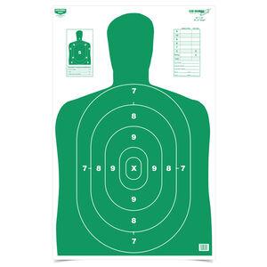 "Birchwood Casey EZE-Scorer BC 27 Green Silhouette Targets 23""x35"" 5 Pack"