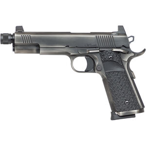 "Dan Wesson Wraith .45 ACP 1911 Semi Auto Pistol 5.75"" Threaded Barrel 8 Rounds Full Size Governement Profile G10 Grips Distressed Duty Finish"