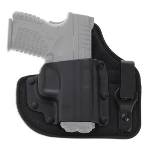 Galco  QuickTuk Cloud Inside Waistband Holster Fits GLOCK 26/27/33 Right Hand Kydex/Leather Black