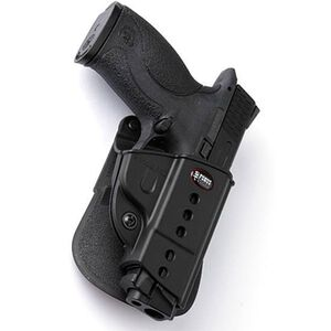 Fobus E2 Paddle Holster Left Hand Black Fits S&W M&P 9mm, .40 S&W, .45ACP and CZ P-06 SWMMPLH