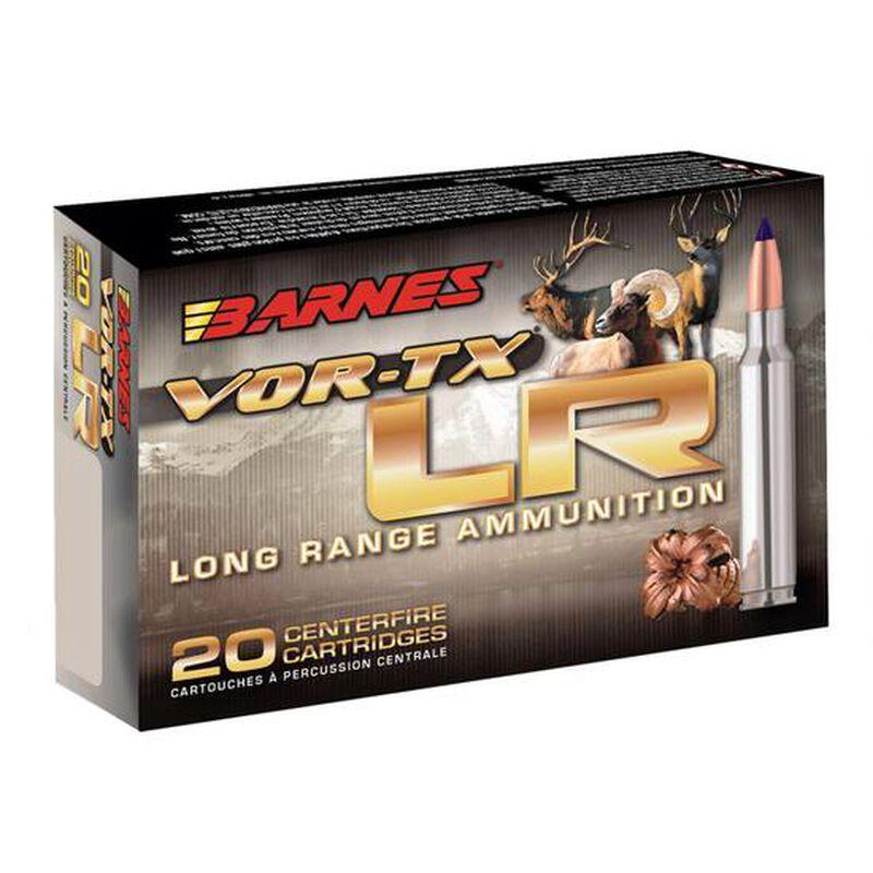 Barnes VOR-TX Long Range 6.5 Creedmoor Ammunition 20 Rounds 127 Grain LRX Boat Tail Lead Free 2825fps