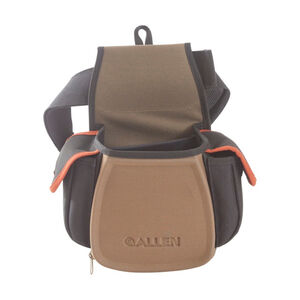 Allen Eliminator Pro Double Compartment Shooting Bag, Coffee/Black