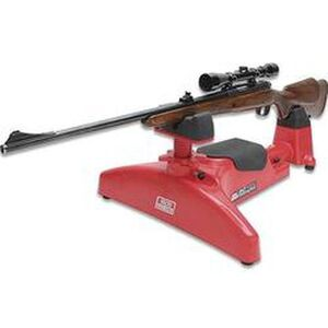 MTM Predator Shooting Rest Adjustable Red and Black MTM300