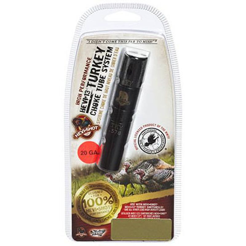 HEVI-Shot 20 Gauge Mid Range Remington Rem Choke Turkey Choke Tube 17-4 Stainless Steel 230121