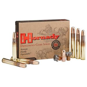 Hornady Dangerous Game .416 Ruger Ammunition 20 Rounds 400 Grain DGX Bonded Projectile 2400fps
