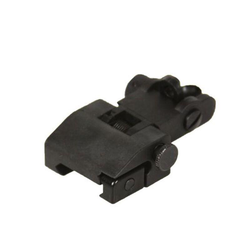 JE Machine Flip up Polymer Rear Sight Black