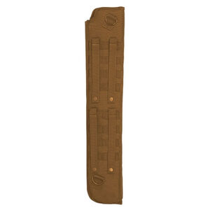 "Voodoo Tactical Shotgun Scabbard With Attached Machete Sheath 29x6""x2"" Coyote 20-007307000"