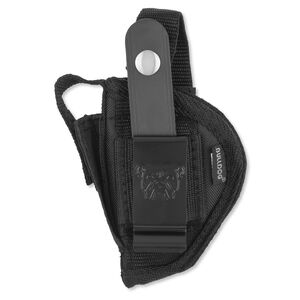 Bulldog Case Fusion Belt Holster Mini Autos Ambidextrous Nylon Black FSN1