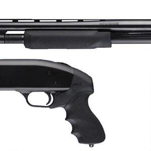 Mossberg 500 12 Gauge OverMolded Tamer Shotgun Pistol Grip/Forend Matte Black