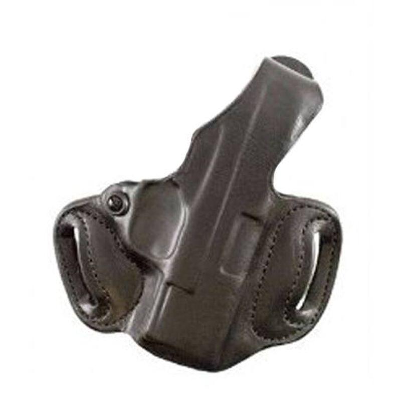 DeSantis Thumb Break Mini Slide Taurus 709 Belt Holster Right Hand Leather Black