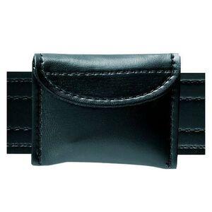 Safariland Model 33 Surgical Glove Pouch 3 Gloves Hook And Loop Closure Basket Weave Black 33-4V