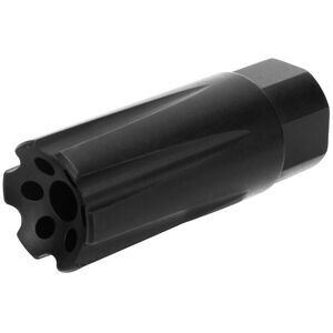 "TacFire Muzzle Brake .223/5.56 1/2"" x 28 Flash and Sound Forwarder Black Nitride"