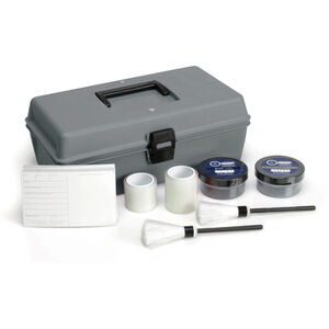 Safariland Two Color Latent Fingerprint Kit with Tape and Brushes