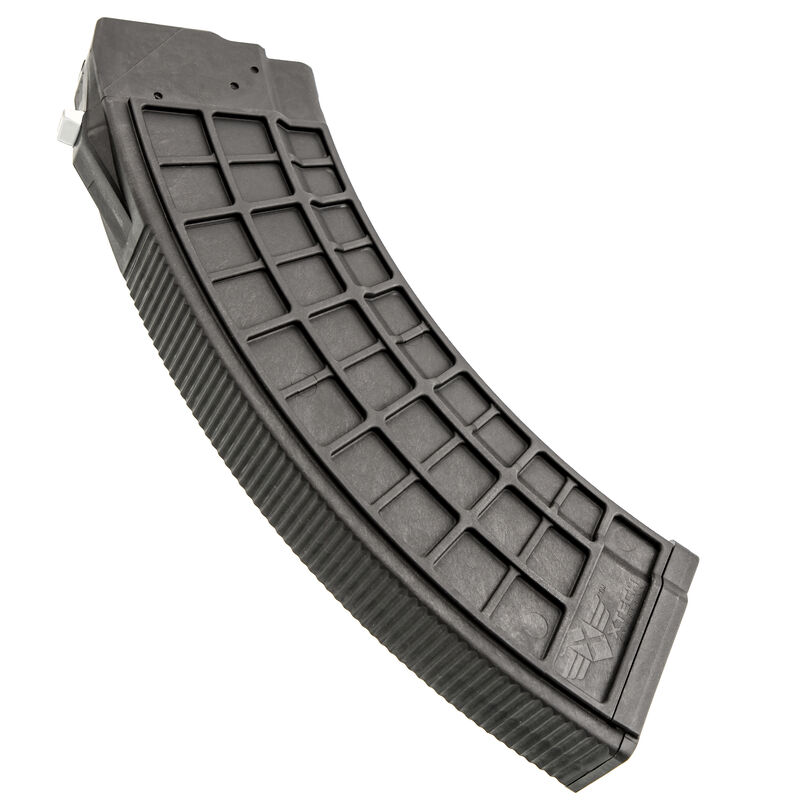 XTech Tactical MAG47 BHO AK-47 Magazine with Bolt Hold Open 30 Rounds 7.62x39mm Metal Reinforced Polymer Black