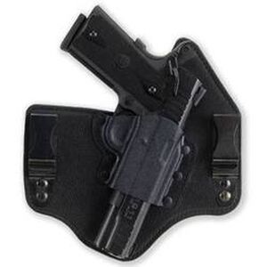 """Galco KingTuk IWB Holster Springfield XD 3"""" Barrel Right Hand Kydex and Leather Black Finish KT440B"""