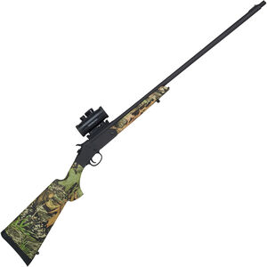 "Savage Stevens 301 Turkey XP 20 Gauge Single Shot Break Action Shotgun 26"" Barrel 3"" Chamber with Red Dot Optic Obsession Camo Synthetic Stock Matte Black Finish"