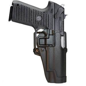 BLACKHAWK! SERPA CQC Concealment OWB Paddle/Belt Loop Holster Ruger P85/P89 Right Hand Polymer Matte Black Finish