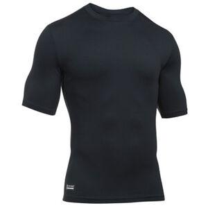Under Armour ColdGear Infrared Tactical Men's Short Sleeve Shirt XL Polyester/Elastane Black