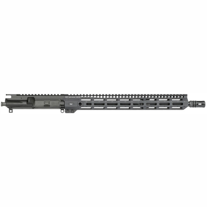 "Midwest Industries AR-15 .223 Wylde Upper Assembly 16"" Chrome Moly Barrel 15"" Combat Handguard M-LOK Black"