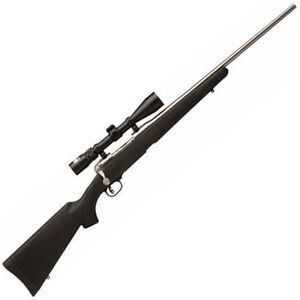 "Savage 116 Trophy Hunter XP Bolt Action Rifle .30-06 Springfield 22"" Barrel 4 Rounds Synthetic Stock Stainless Finish 3-9x40 Scope 19733"