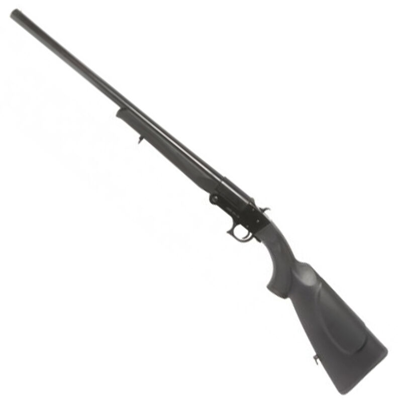 "ATI Nomad 20 Gauge Break Action Shotgun 18.5"" Barrel 1 Round Capacity 3"" Chamber Bead Front Sight Checkered Synthetic Stock/Forend Matte Black/Blued Finish"