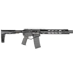 "Diamondback DB15 5.56 NATO AR-15 Semi Auto Pistol 10"" Barrel 30 Rounds M-LOK Free Float Hand Guard Pistol Stabilizing Brace Black"