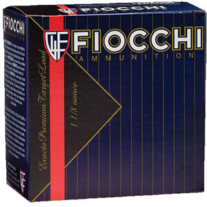 "Fiocchi Exacta Power Spreader 12 Gauge Ammunition 2-3/4"" #8.5 1-1/8 oz Lead Shot 1250 fps"