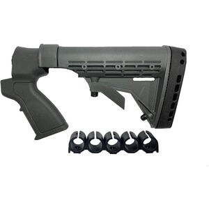 Phoenix Technologies Maverick 88 12 Gauge Shotgun Stock Six Position Field Stock Polymer Black