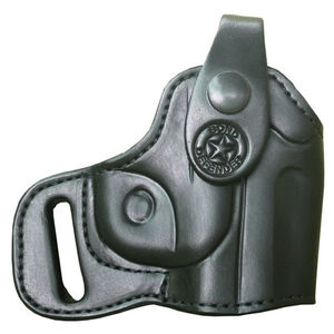 Bond Arms Backup Derringer Belt Holster Right Hand Leather Black BACKUPRH