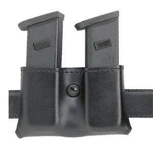 Safariland Model 079 Concealment Double Magazine Holder Snap-on Belt Mount Size Group 2 Ambidextrous Hardshell STX Tactical Black 079-53-13